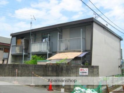 大阪府枚方市、御殿山駅徒歩6分の築28年 2階建の賃貸アパート