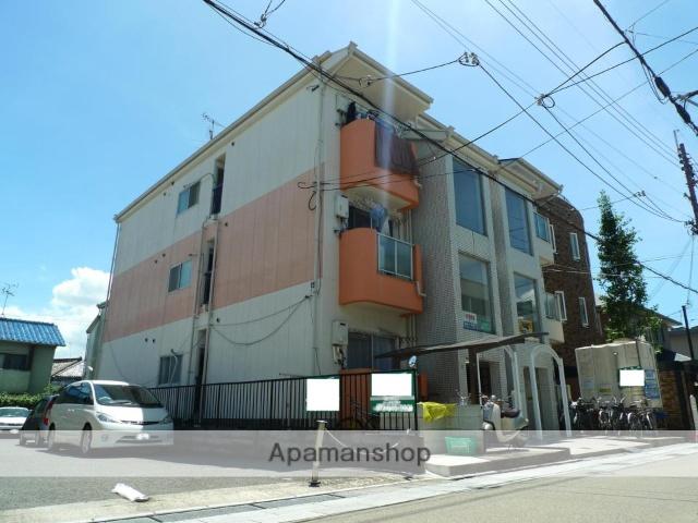 大阪府枚方市、枚方公園駅徒歩4分の築27年 3階建の賃貸マンション