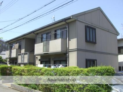 大阪府枚方市、枚方市駅徒歩14分の築23年 2階建の賃貸アパート
