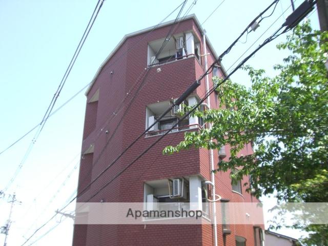 大阪府枚方市、枚方市駅徒歩15分の築28年 4階建の賃貸マンション