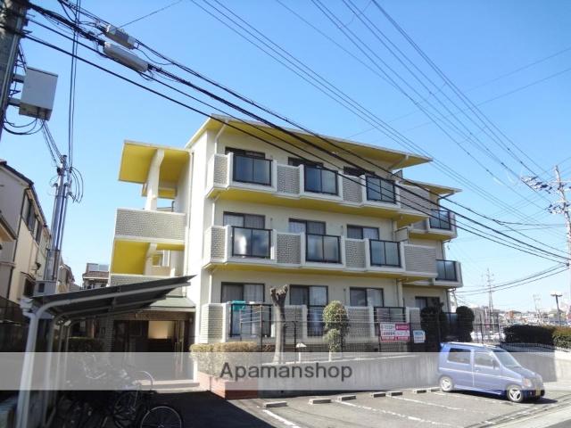 大阪府枚方市、松井山手駅徒歩33分の築26年 3階建の賃貸マンション