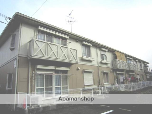 大阪府枚方市、藤阪駅徒歩8分の築24年 2階建の賃貸アパート