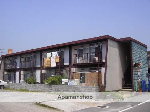 大阪府枚方市、樟葉駅京阪バスバス8分船橋下車後徒歩2分の築41年 2階建の賃貸アパート