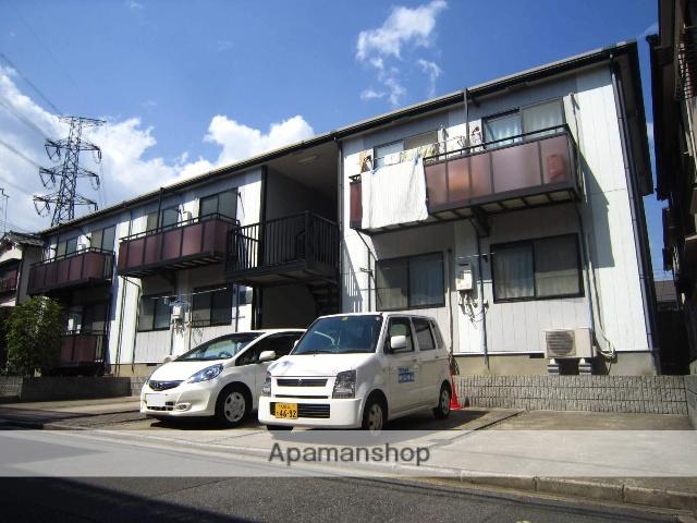 大阪府枚方市、橋本駅徒歩32分の築20年 2階建の賃貸アパート
