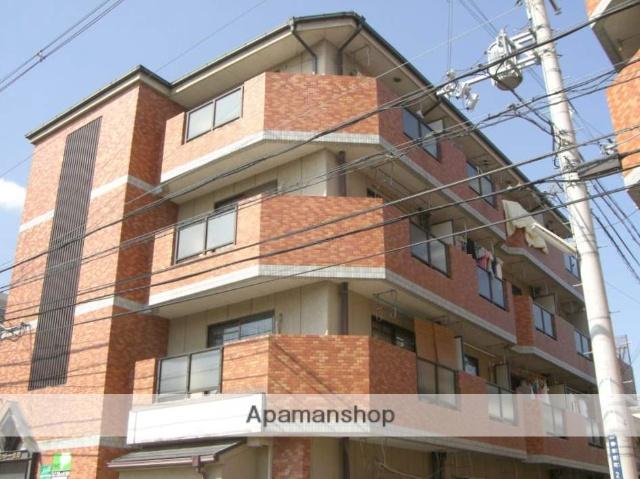 大阪府寝屋川市、萱島駅徒歩12分の築25年 4階建の賃貸マンション