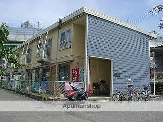 大阪府四條畷市、東寝屋川駅徒歩30分の築40年 2階建の賃貸アパート