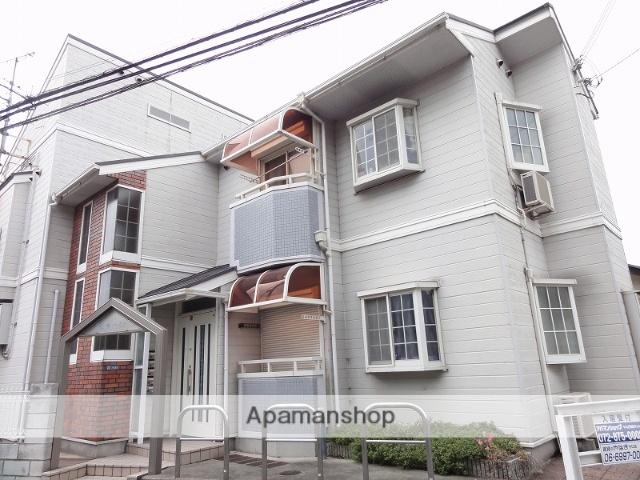 大阪府四條畷市、東寝屋川駅徒歩20分の築23年 2階建の賃貸アパート