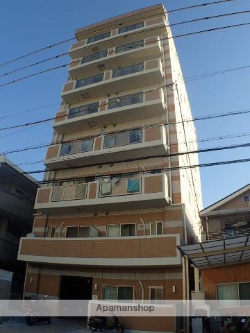 大阪府東大阪市、荒本駅徒歩4分の新築 8階建の賃貸マンション