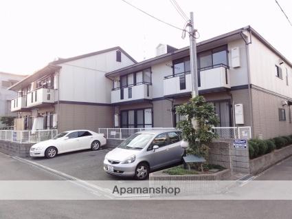 大阪府大東市、住道駅徒歩21分の築21年 2階建の賃貸アパート