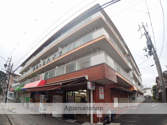 大阪府大東市、四条畷駅徒歩19分の築34年 4階建の賃貸マンション