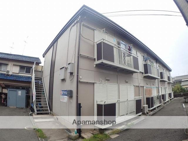 大阪府大東市、忍ケ丘駅徒歩26分の築20年 2階建の賃貸アパート