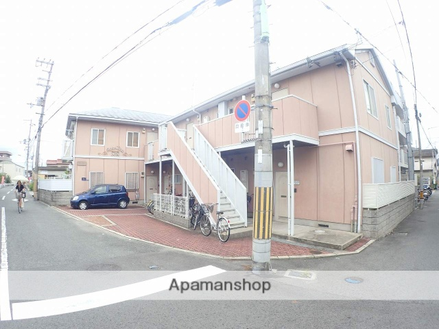 大阪府大東市、住道駅徒歩21分の築26年 2階建の賃貸アパート