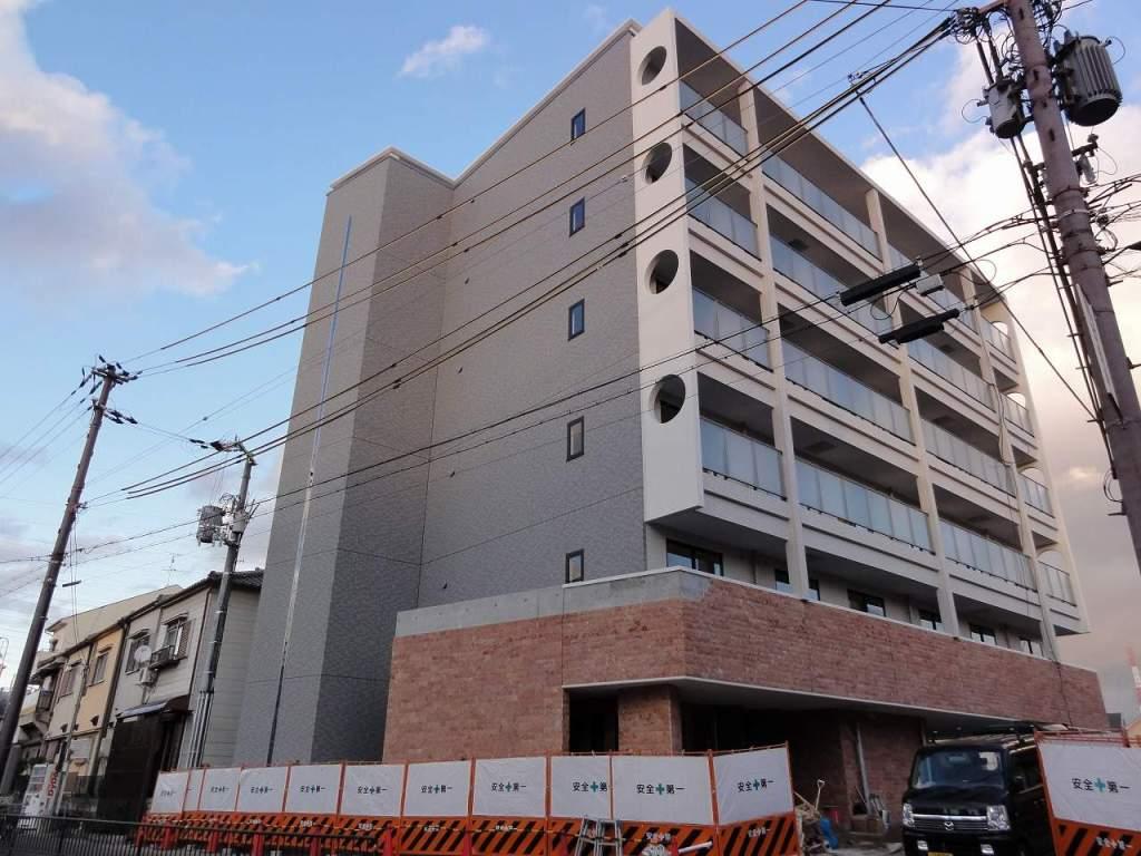 大阪府門真市、萱島駅徒歩23分の築3年 6階建の賃貸マンション
