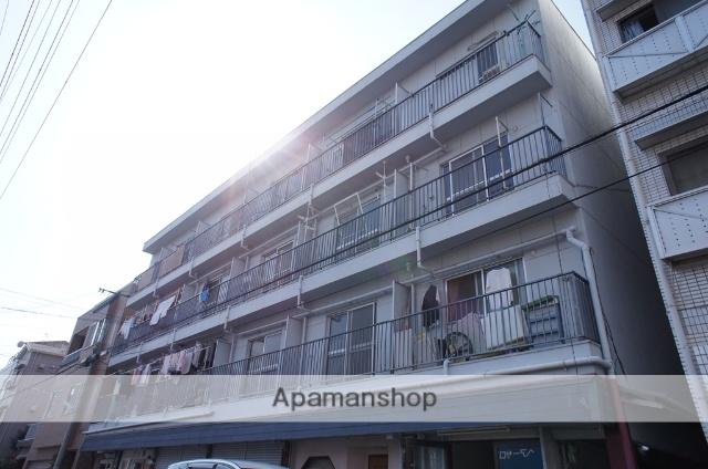 大阪府大阪市東淀川区、上新庄駅徒歩18分の築46年 4階建の賃貸マンション