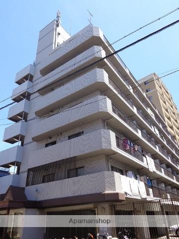 大阪府大阪市天王寺区、桃谷駅徒歩13分の築22年 7階建の賃貸マンション