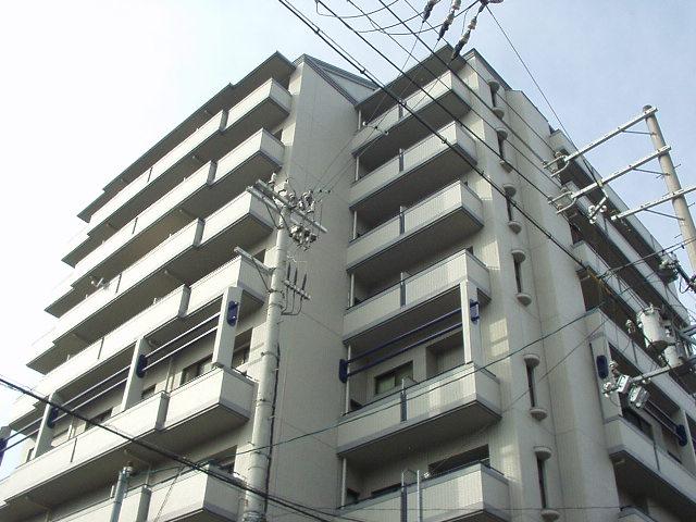 大阪府大阪市城東区、野江駅徒歩9分の築26年 9階建の賃貸マンション