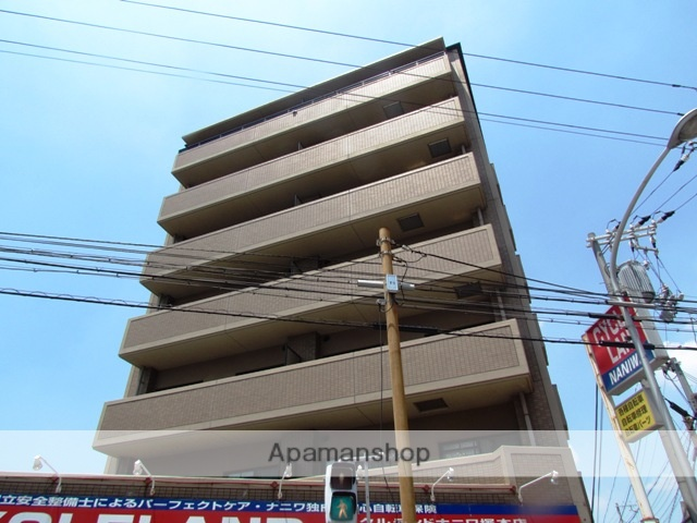 大阪府大阪市西淀川区、塚本駅徒歩4分の築18年 8階建の賃貸マンション