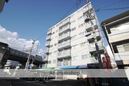 大阪府大阪市東淀川区、上新庄駅徒歩4分の築22年 7階建の賃貸マンション