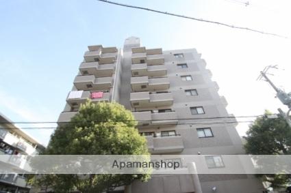 大阪府大阪市淀川区、十三駅徒歩15分の築21年 8階建の賃貸マンション