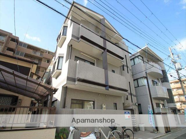 大阪府吹田市、関大前駅徒歩13分の築20年 3階建の賃貸マンション