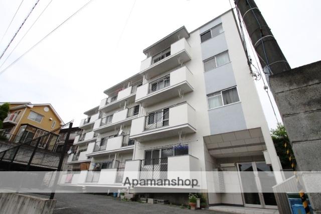 大阪府吹田市、千里山駅徒歩8分の築43年 4階建の賃貸マンション