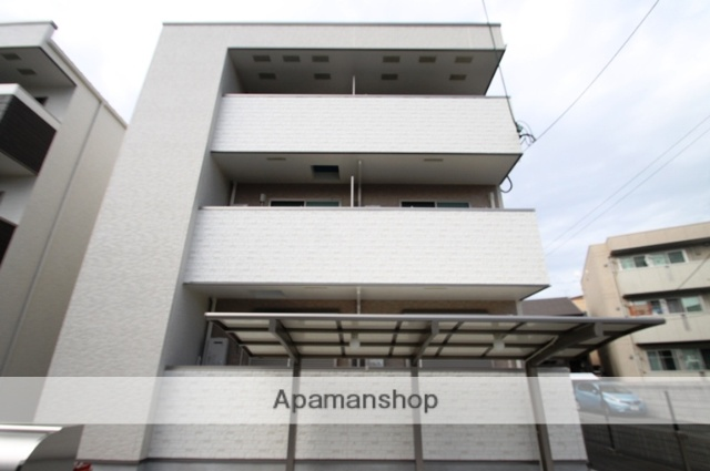 大阪府大阪市東淀川区、上新庄駅徒歩12分の新築 3階建の賃貸アパート