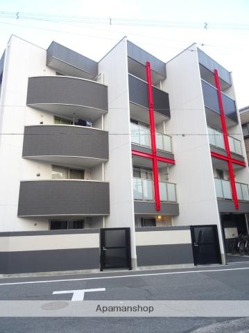 大阪府大阪市東住吉区、南田辺駅徒歩12分の築3年 4階建の賃貸マンション