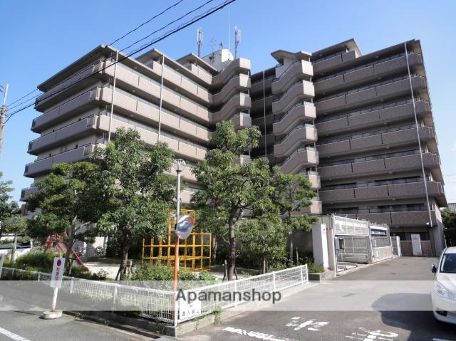 大阪府大阪市東住吉区、今川駅徒歩9分の築19年 9階建の賃貸マンション