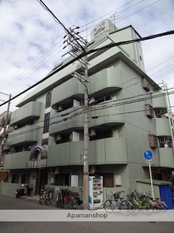 大阪府大阪市阿倍野区、美章園駅徒歩5分の築27年 7階建の賃貸マンション