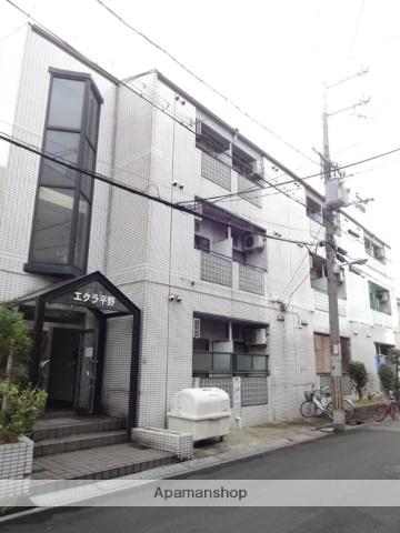 大阪府大阪市平野区、加美駅徒歩19分の築25年 3階建の賃貸マンション