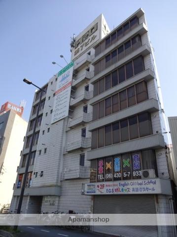 大阪府大阪市東住吉区、東部市場前駅徒歩8分の築30年 7階建の賃貸マンション