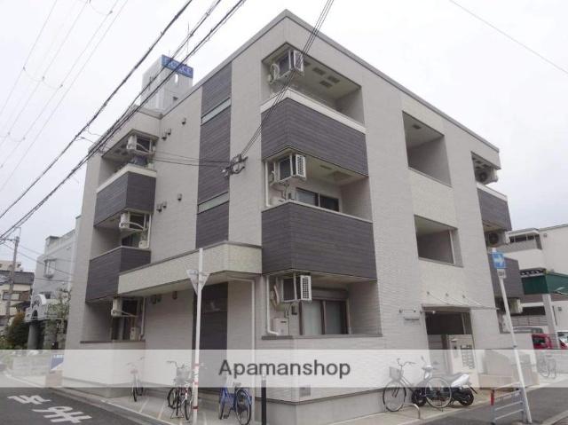大阪府大阪市平野区、喜連瓜破駅徒歩19分の築2年 3階建の賃貸アパート