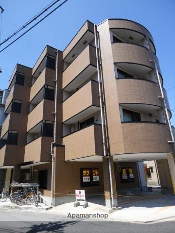 大阪府大阪市東住吉区、東部市場前駅徒歩6分の築10年 4階建の賃貸マンション