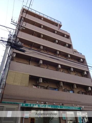 大阪府大阪市阿倍野区、大阪阿部野橋駅徒歩2分の築23年 9階建の賃貸マンション