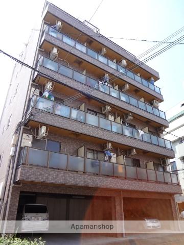 大阪府大阪市阿倍野区、美章園駅徒歩5分の築23年 6階建の賃貸マンション