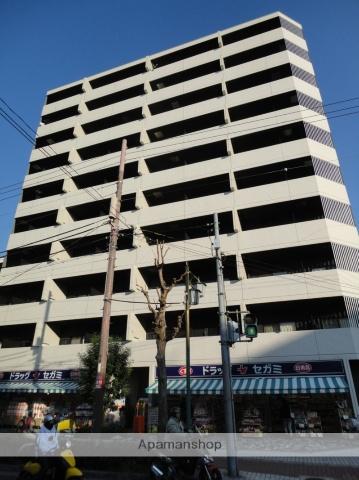 大阪府大阪市阿倍野区、南田辺駅徒歩9分の築7年 10階建の賃貸マンション