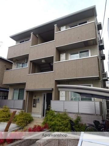 大阪府大阪市平野区、喜連瓜破駅徒歩10分の築3年 3階建の賃貸マンション