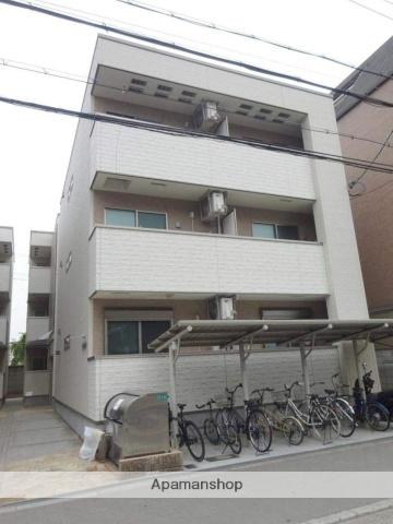 大阪府大阪市平野区、喜連瓜破駅徒歩7分の新築 3階建の賃貸アパート