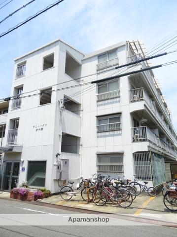 大阪府大阪市東住吉区、今川駅徒歩13分の築38年 4階建の賃貸マンション