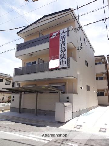 大阪府大阪市生野区、東部市場前駅徒歩9分の新築 3階建の賃貸アパート