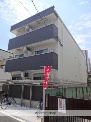 大阪府大阪市住之江区、粉浜駅徒歩7分の新築 3階建の賃貸アパート