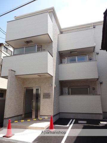 大阪府大阪市住之江区、住吉大社駅徒歩8分の新築 3階建の賃貸アパート
