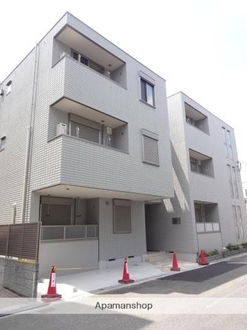 大阪府大阪市阿倍野区、南田辺駅徒歩11分の新築 3階建の賃貸マンション