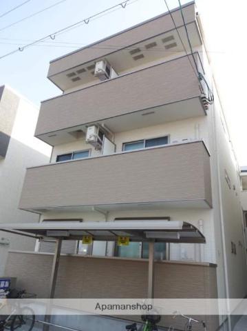 大阪府大阪市住吉区、住ノ江駅徒歩8分の新築 3階建の賃貸アパート