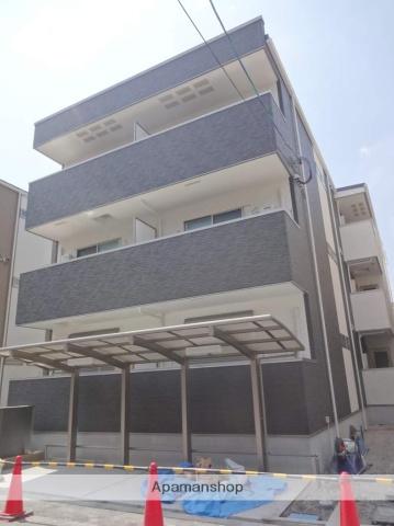 大阪府大阪市西成区、岸里駅徒歩9分の新築 3階建の賃貸アパート