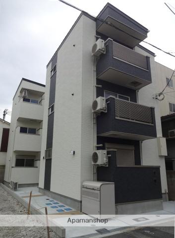 大阪府大阪市生野区、東部市場前駅徒歩6分の新築 3階建の賃貸アパート