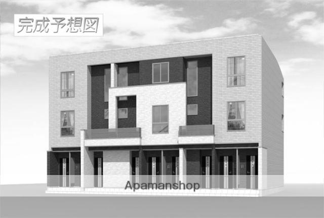 大阪府大阪市西成区、岸里玉出駅徒歩9分の新築 3階建の賃貸アパート