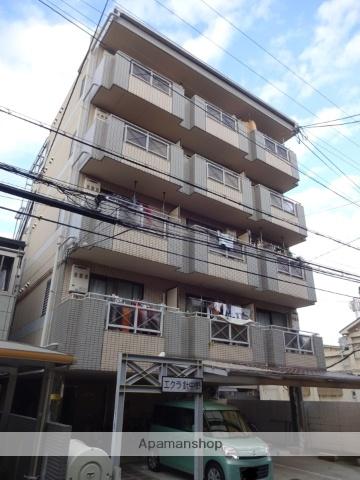 大阪府大阪市東住吉区、針中野駅徒歩14分の築25年 6階建の賃貸マンション