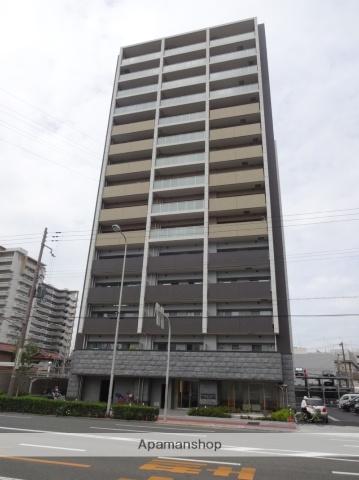 大阪府大阪市東住吉区、東部市場前駅徒歩4分の新築 14階建の賃貸マンション