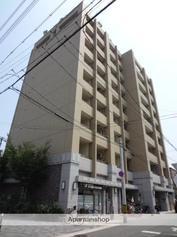 大阪府大阪市西成区、花園町駅徒歩7分の築8年 9階建の賃貸マンション